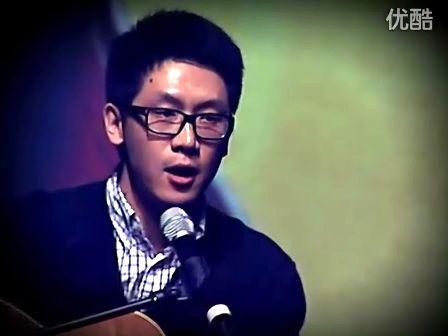 老罗英语培训教师许岑于罗永浩海淀剧院演讲现场演唱《Rings》